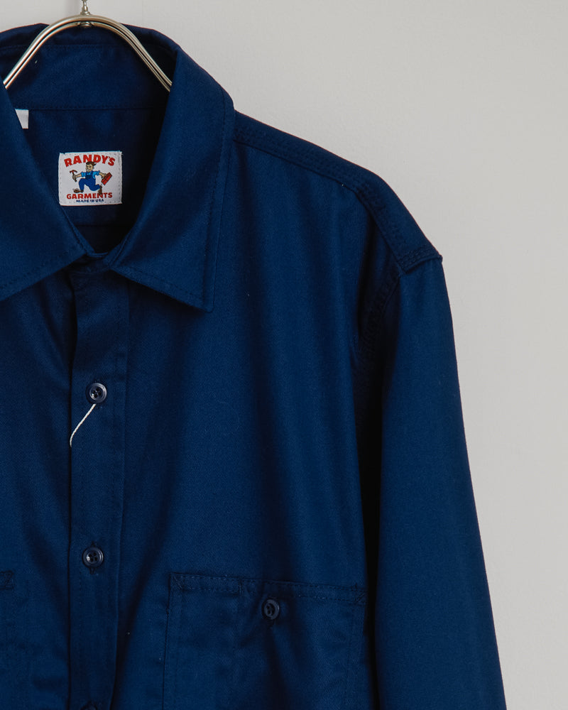 3-Pocket Work Shirt in Navy