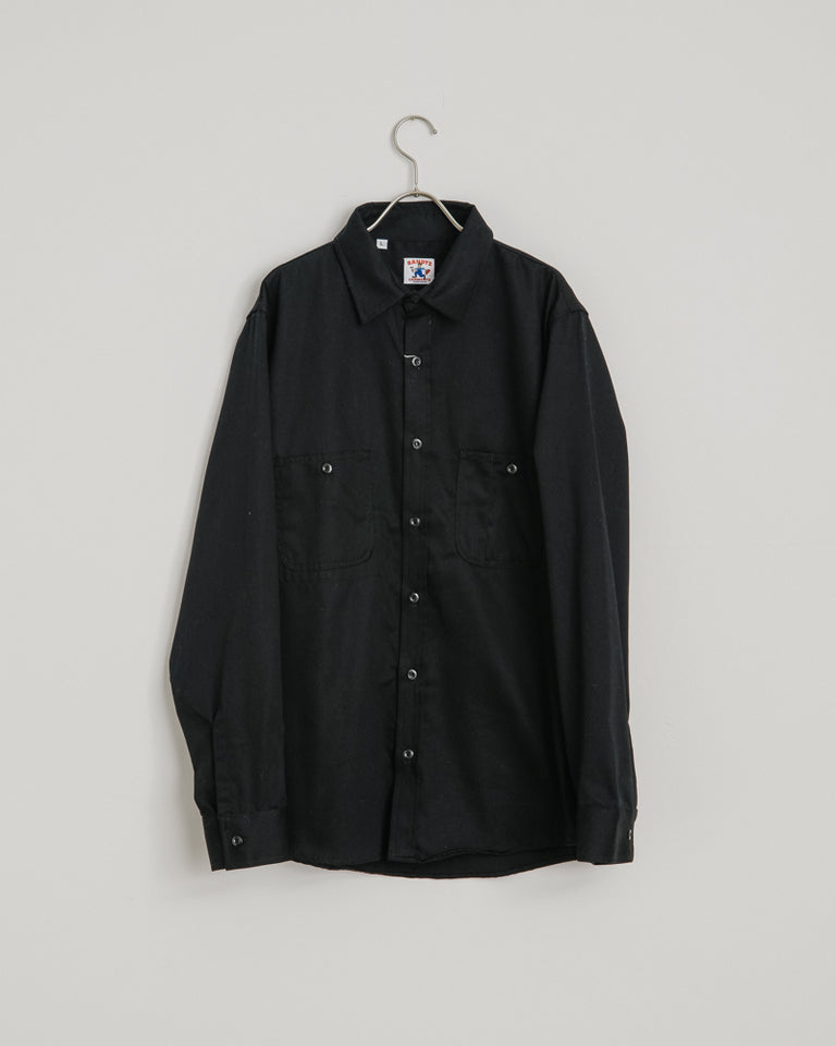 3-Pocket Work Shirt in Black