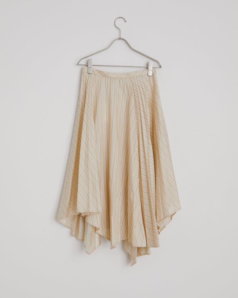 Ilia Fluid Po Skirts in Cream Beige