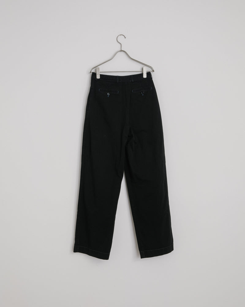Pavi Cotton Twill in Black