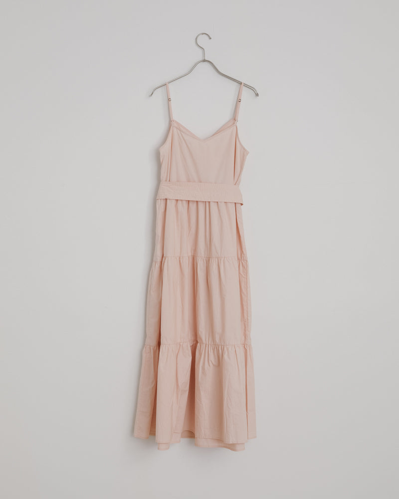 Marjana Spaghetti Maxi Dress in Blush