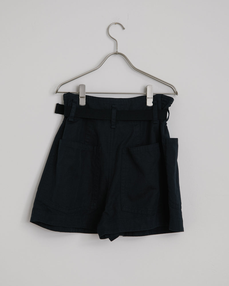 Rike Shorts in Fade Black