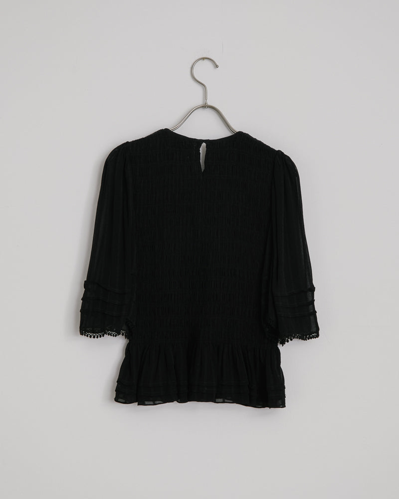 Janette Top in Black