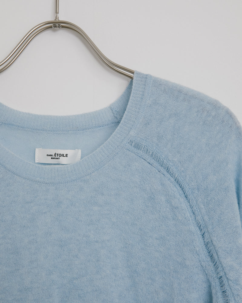 Foty Sweater in Light Blue