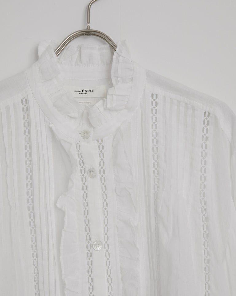 Valda Shirt in White