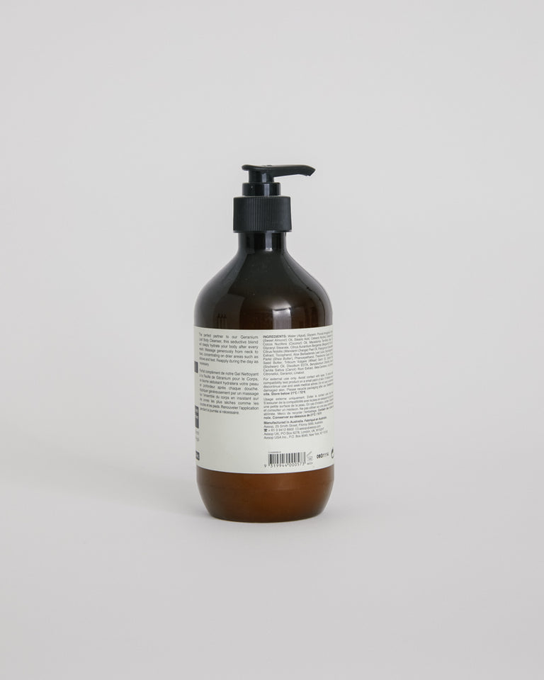 Geranium Leaf Body Balm 500mL