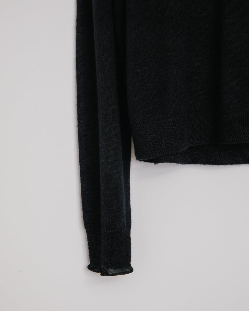 Kaeli Transparent Wool in Black