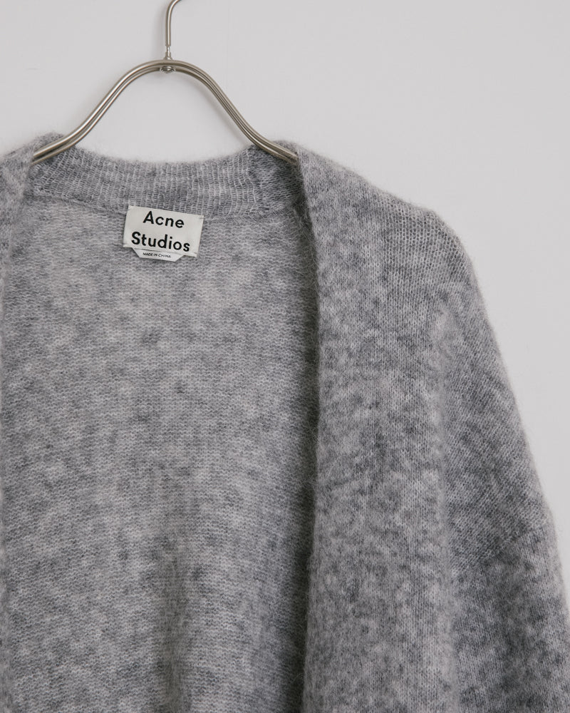 Raya Mohair in Cold Grey