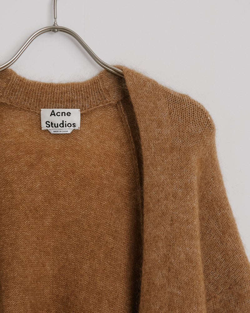 Raya Mohair in Caramel Brown
