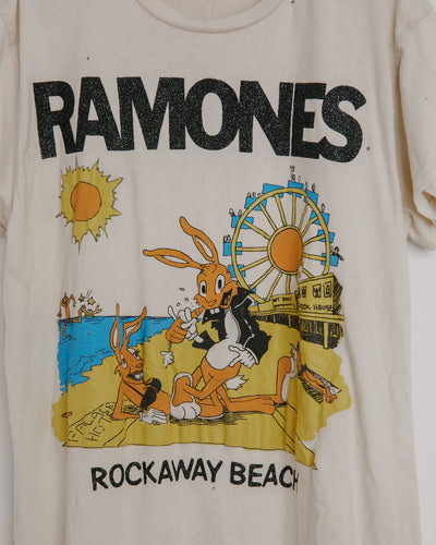 Ramones Tee in Off White