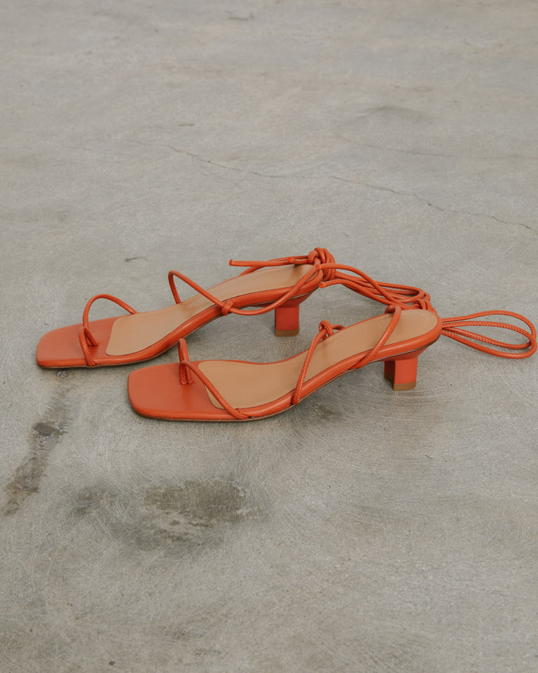 Roma Sandals in Paprika