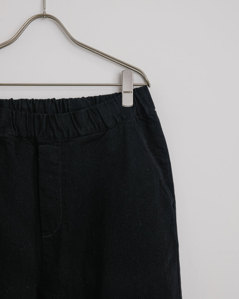Yoyogi Pant in Black Denim