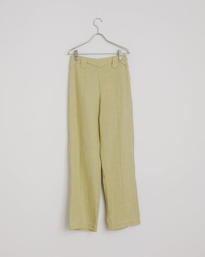 Dolar Pant in Pastel Lime