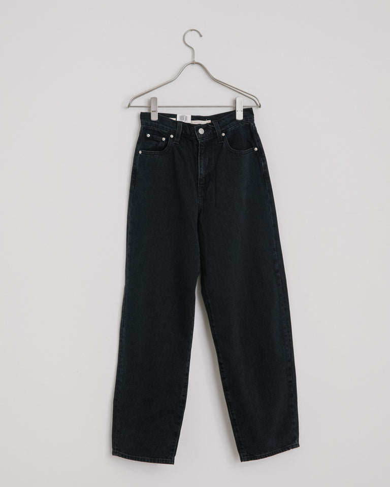 Balloon Leg Jeans in Black