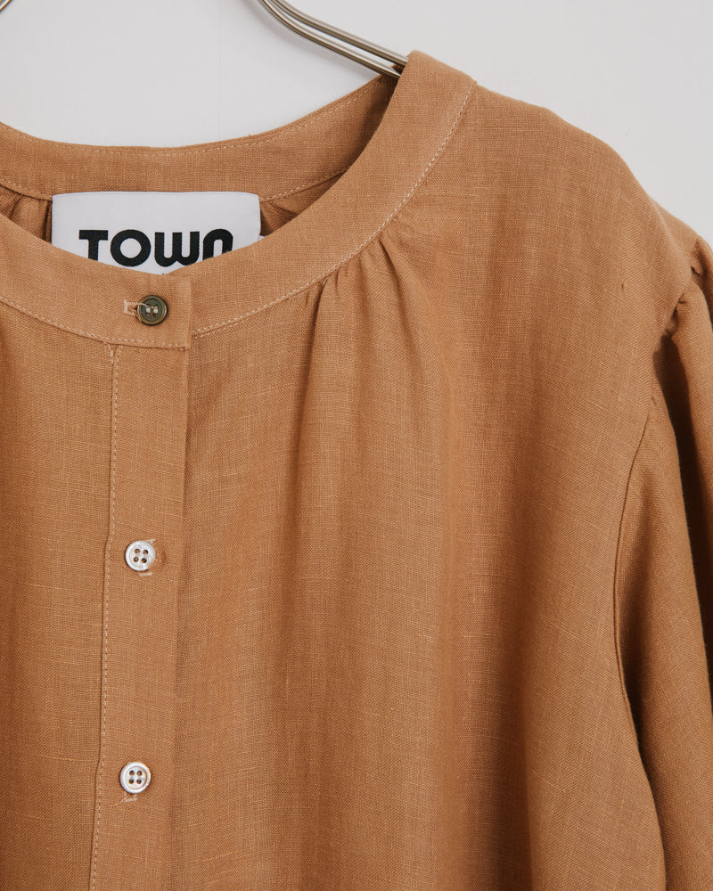 Market Blouse in Camel