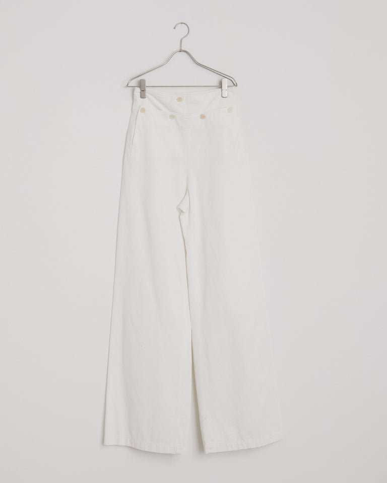 Pommo 9292 Pants in White