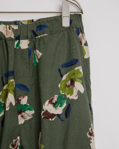 Floral Yoyogi Pant in Avocado