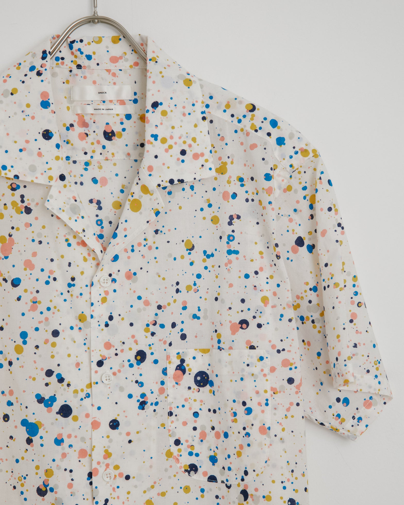 Pollock Camp Shirt in White
