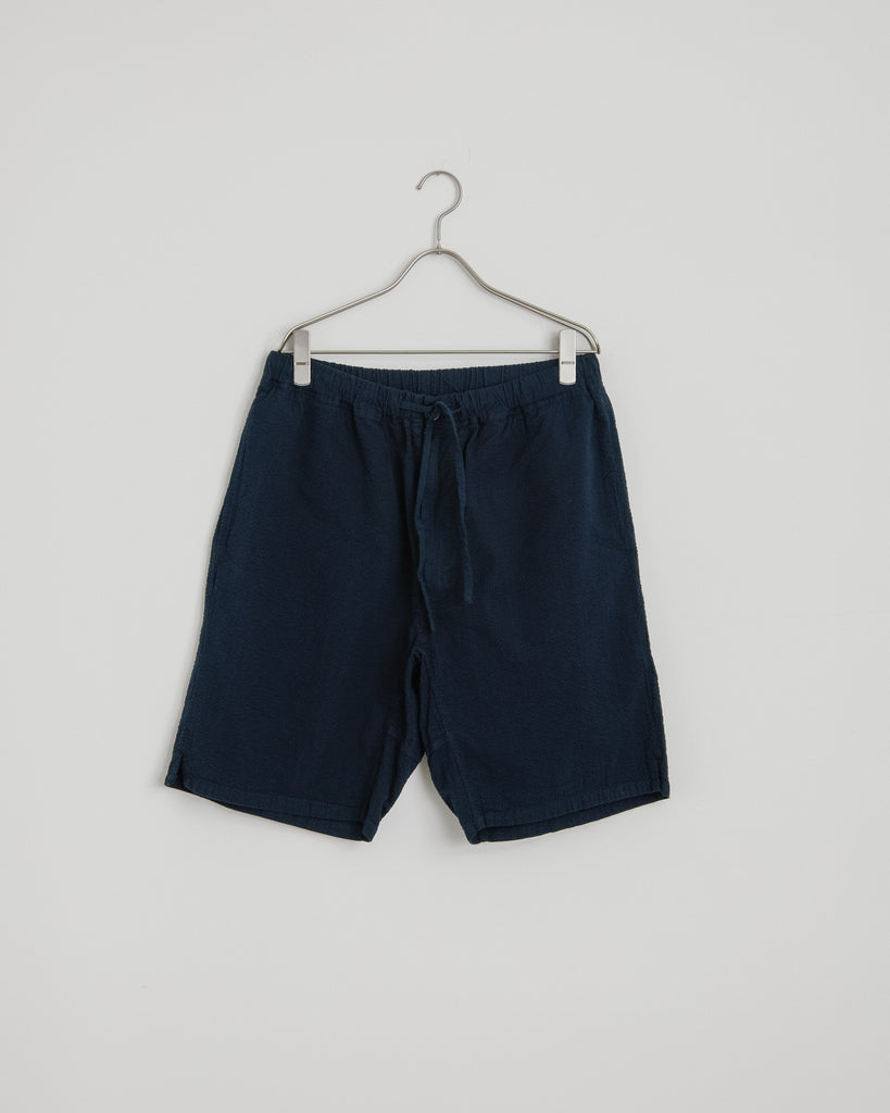 Seersucker Yoyogi Short in Navy