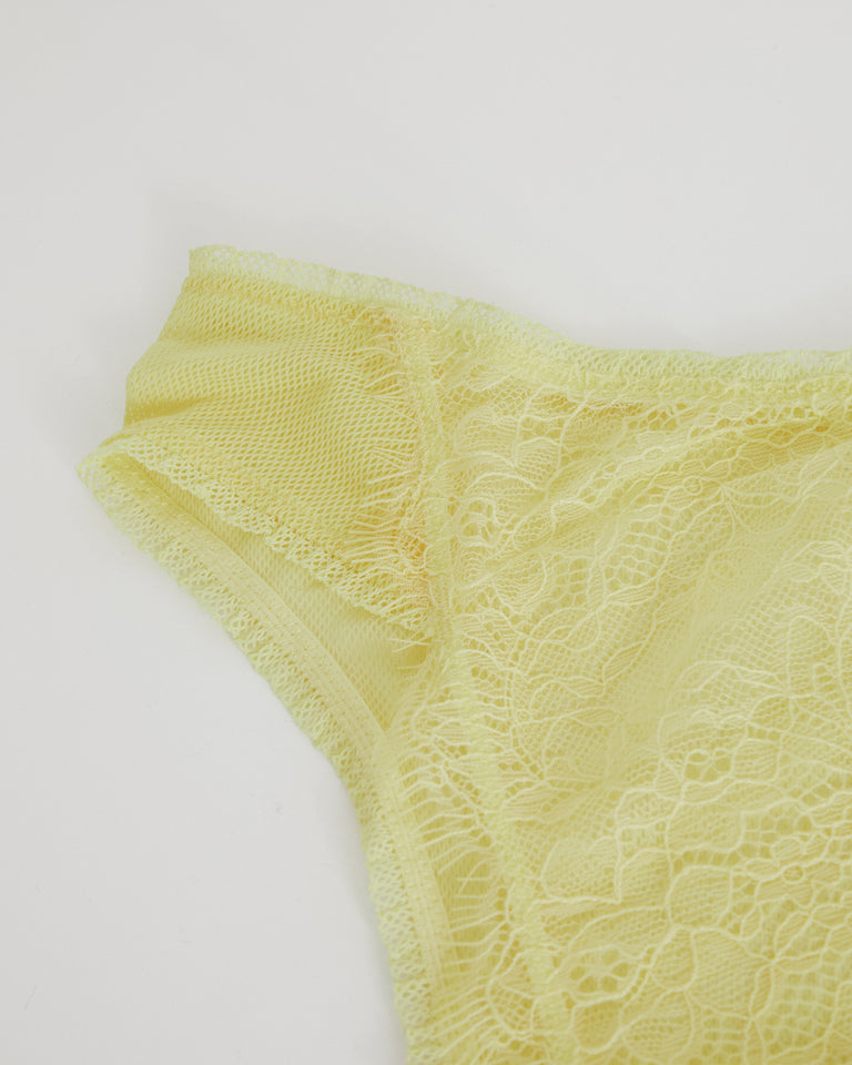 Shelby High Waist Brief - Sorbet