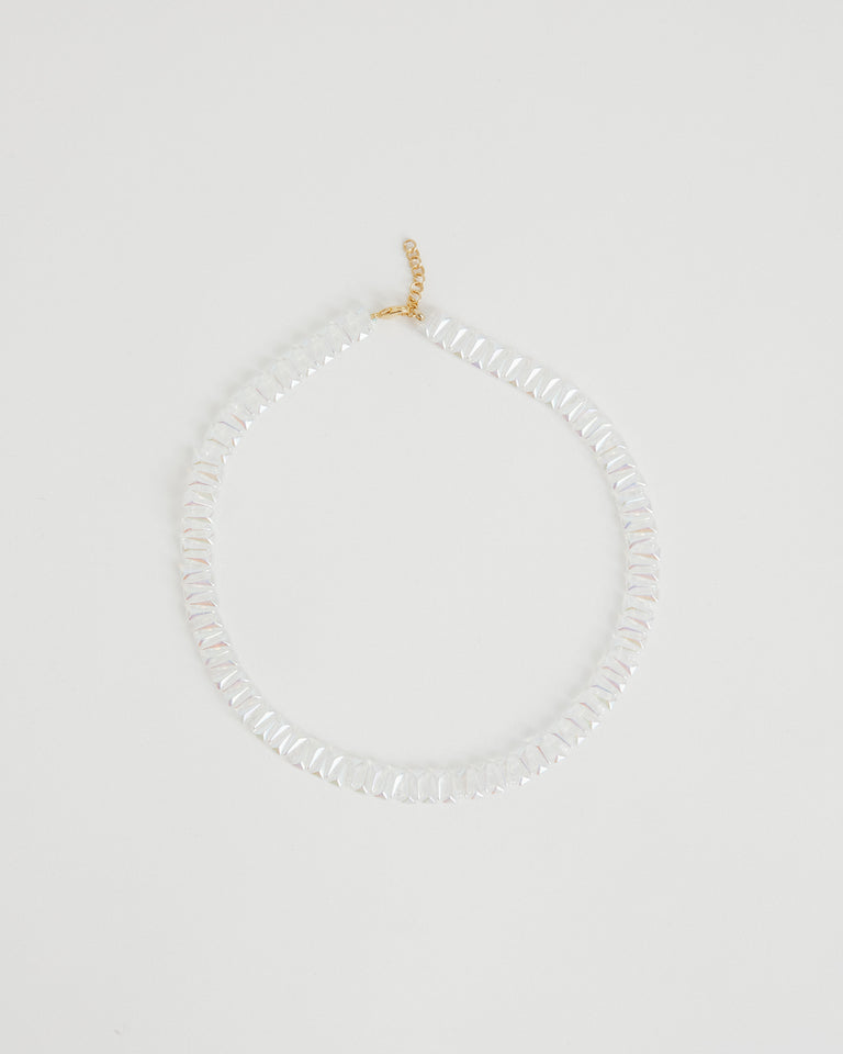 Prin Necklace in Transparent