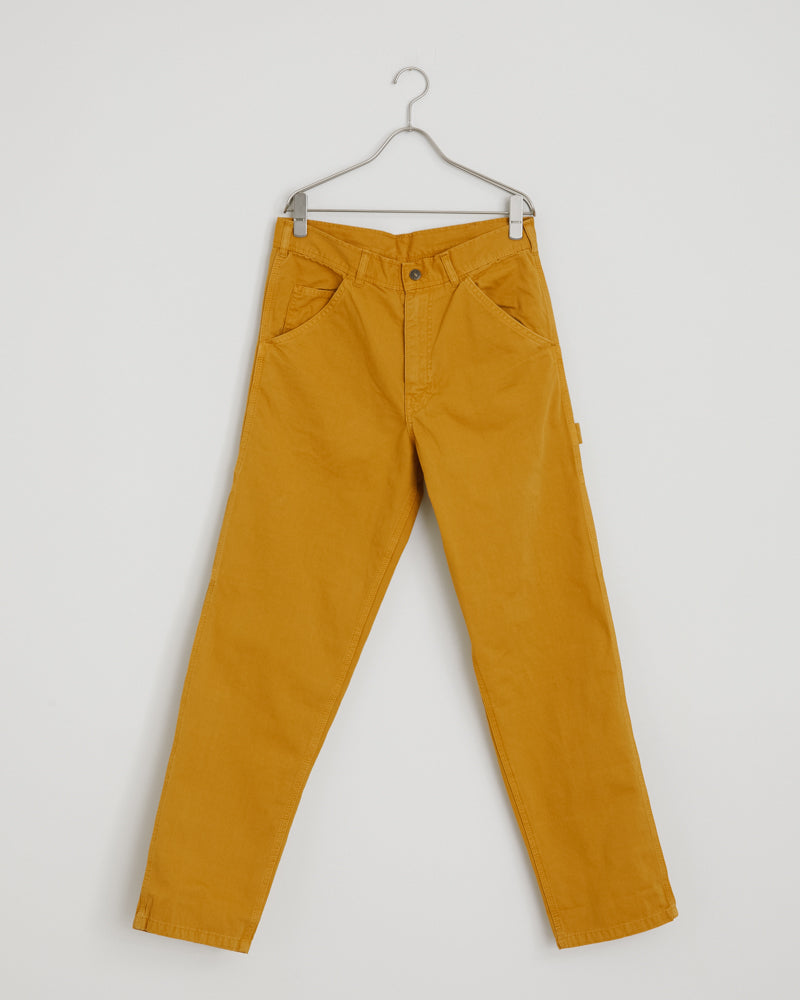 80's Painter Pant in Old Yellow