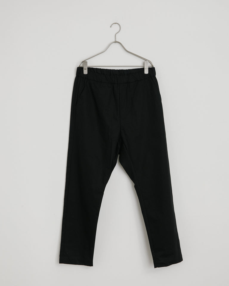 West Coast Yoyogi Pant in Black Herringbone