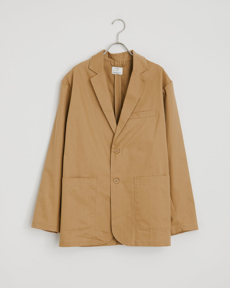 West Coast Jacket in Khaki Herringbone
