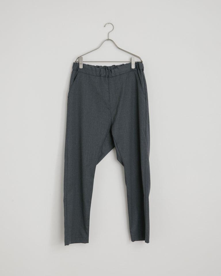 Wool Yoyogi Pant in Grey