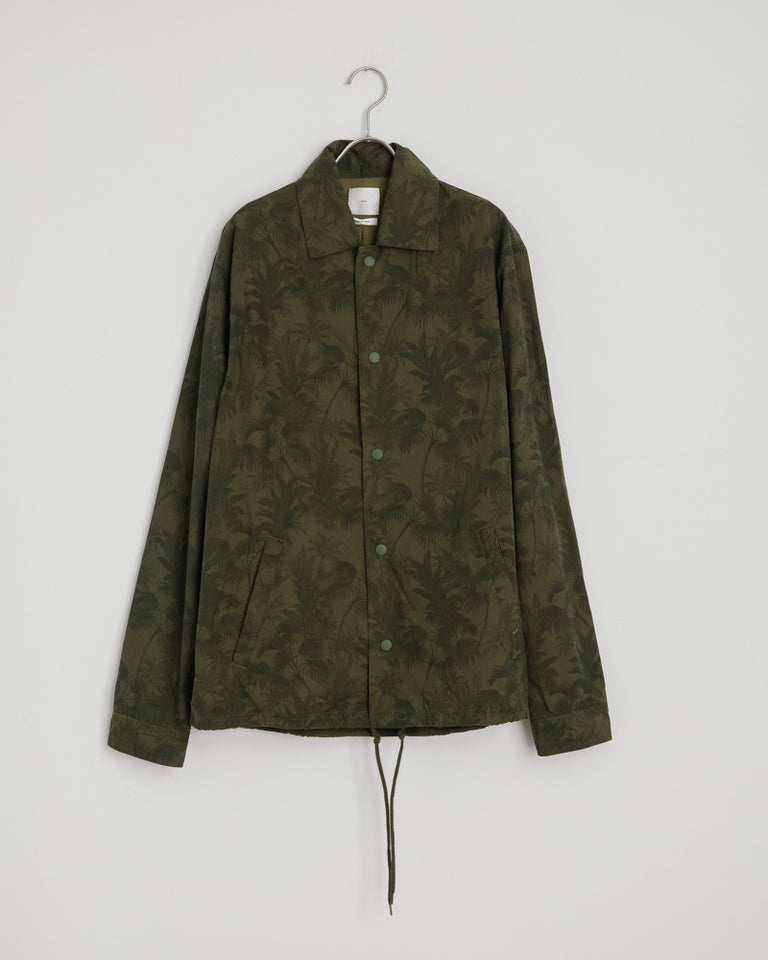 Forum Jacket in Floral Army Green