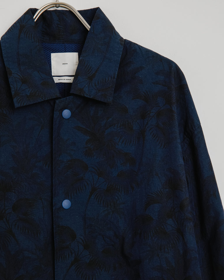 Forum Jacket in Floral Dark Navy