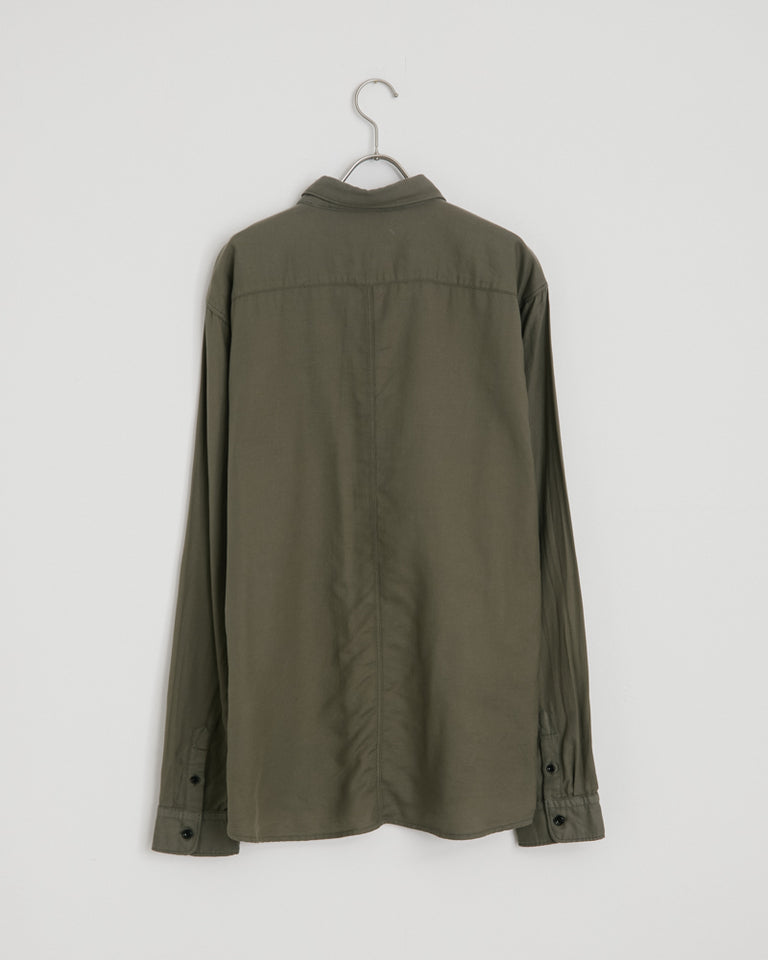Cori Shirt in Dusty Olive