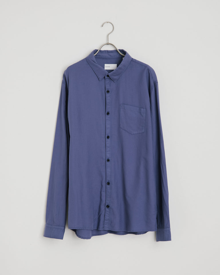 Cori Shirt in Blue Indigo