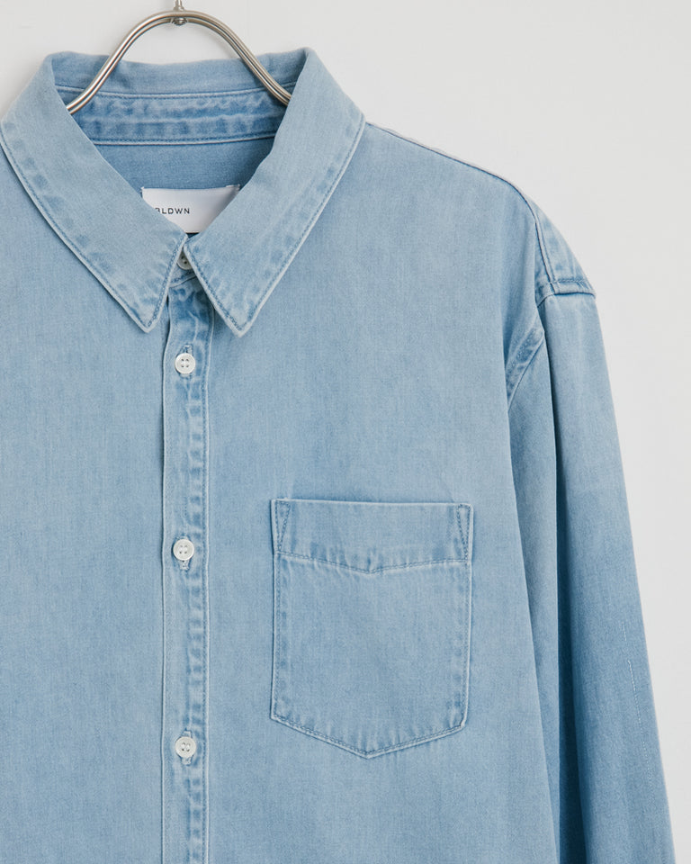 Diego Shirt in Indigo