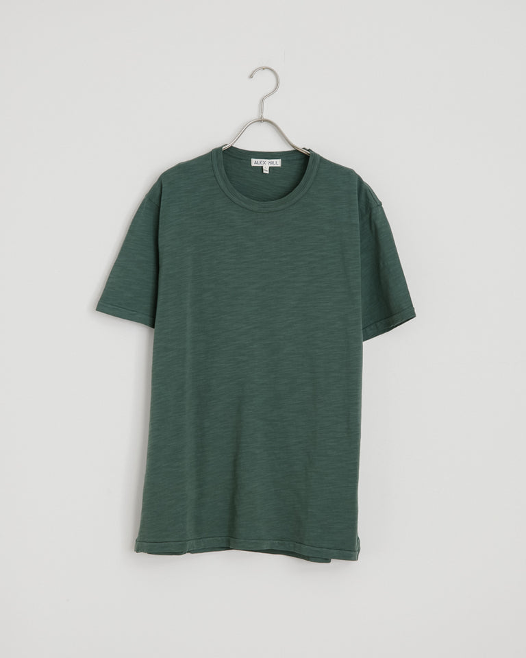 Standard Slub Cotton Tee in Faded Spruce