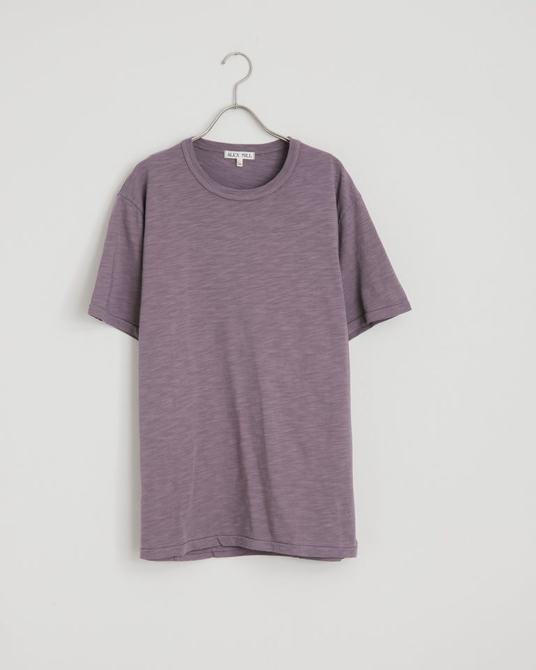 Standard Slub Cotton Tee in Gray Lilac