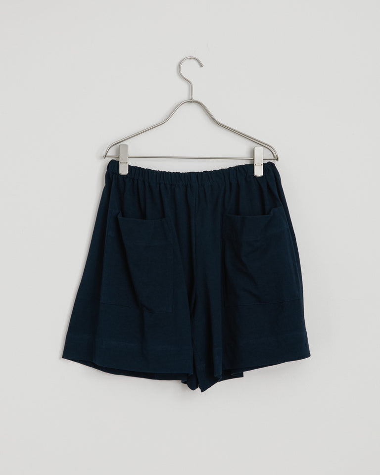 Backward Boxer Shorts in Navy