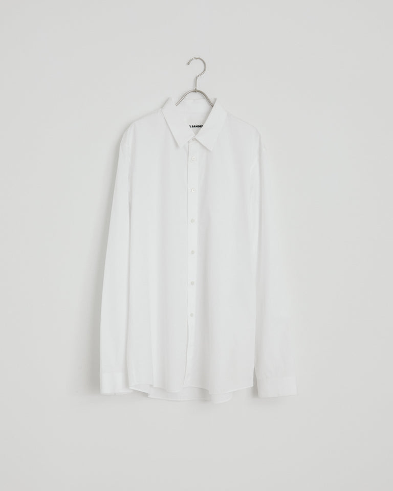 Essential Shirt in Ultra White