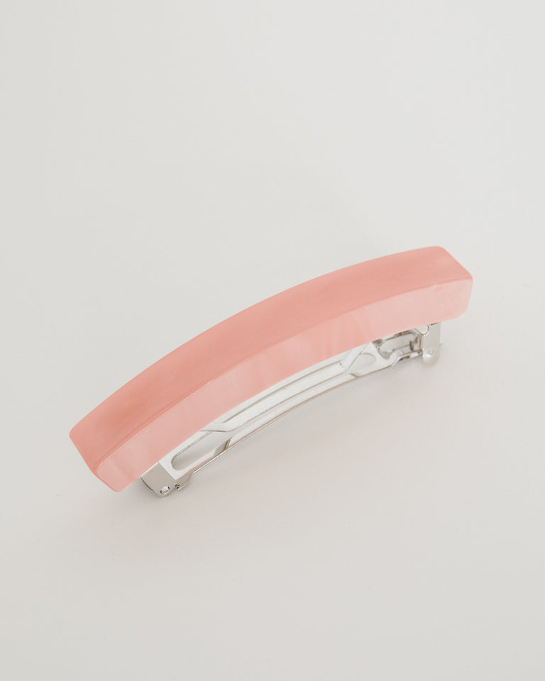 Short Lidia Barrette in Candy Pink