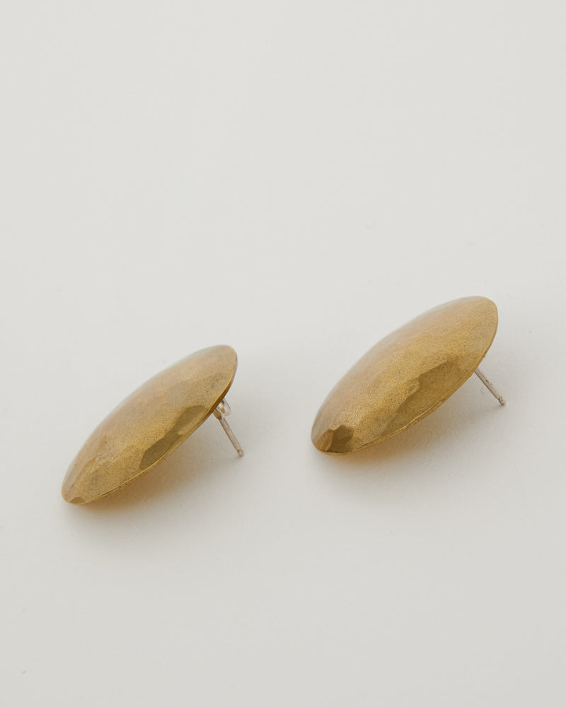 Terra Earrings in Brass