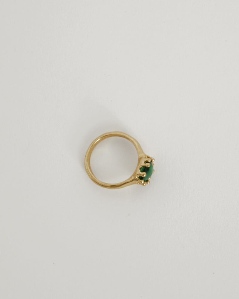 Lush Ring in Haricot