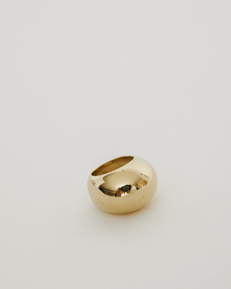 Bubble Ring in Brass