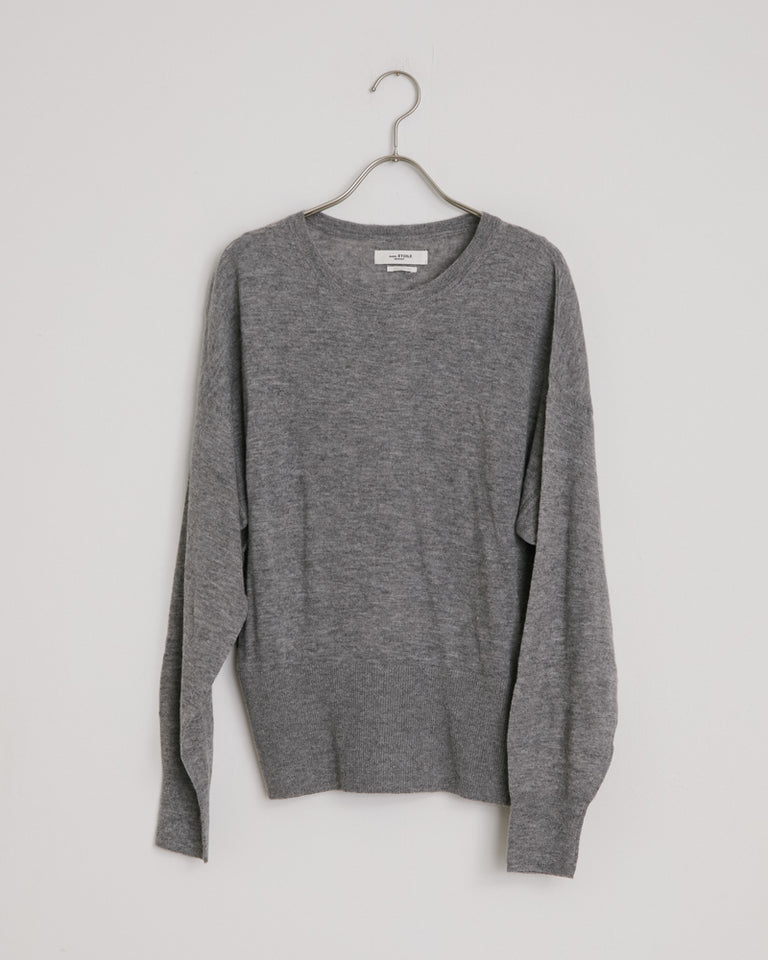 Flint Pullover in Grey