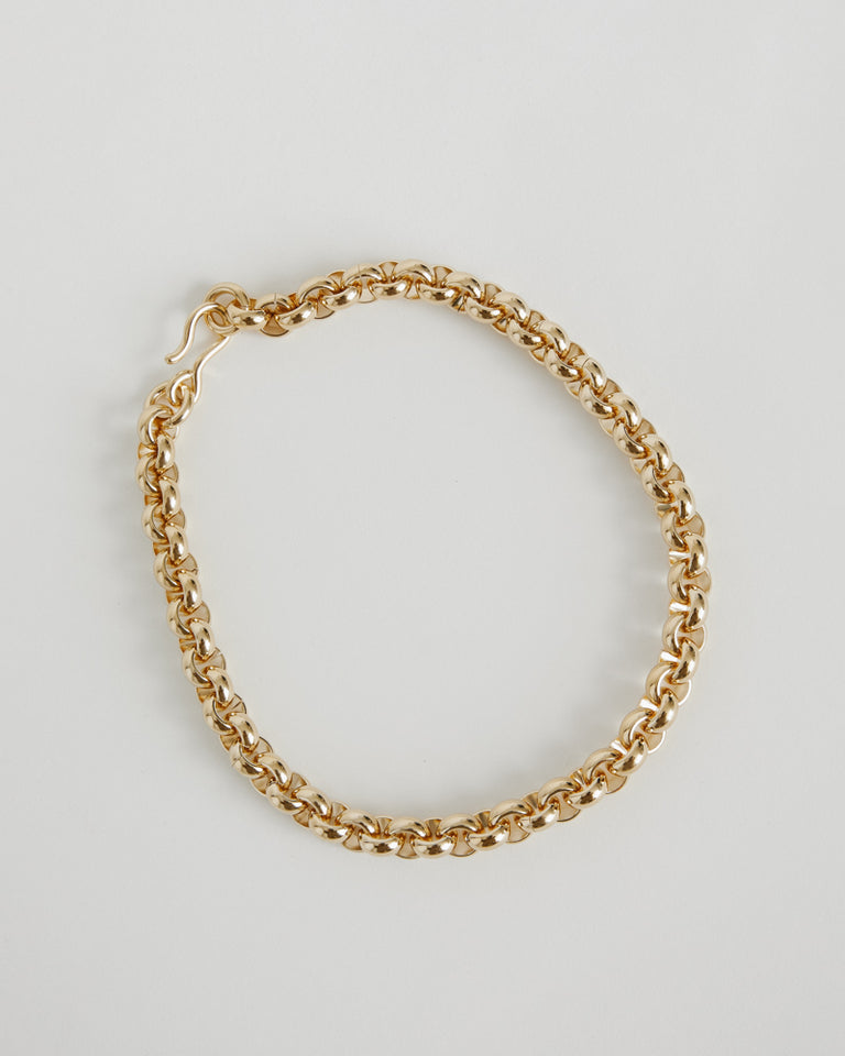 Piera Necklace in Brass
