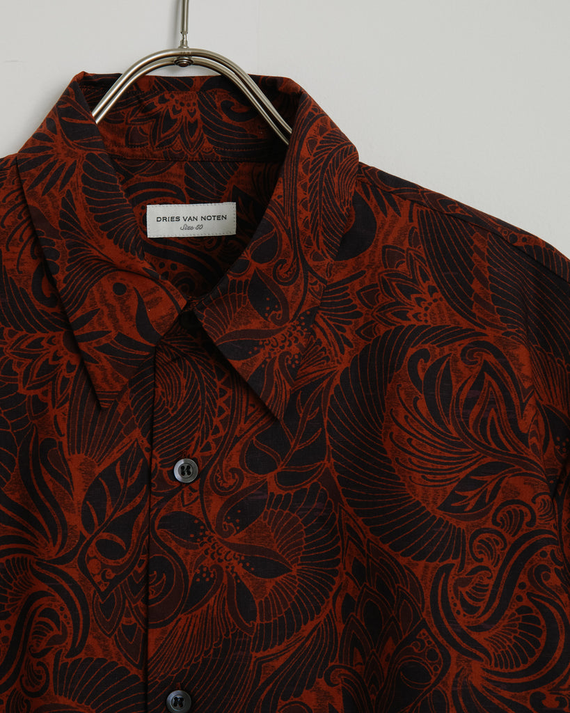 Clasen Bis 1001 Shirt in Rust