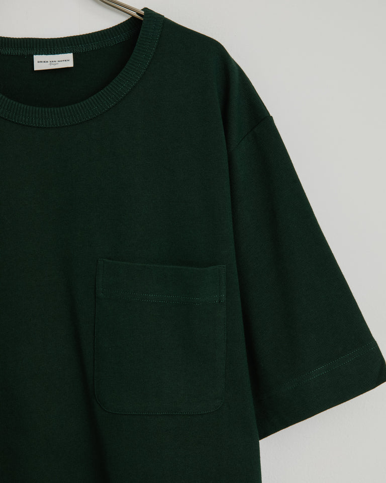 Hobis 1604 T-Shirt in Dark Green