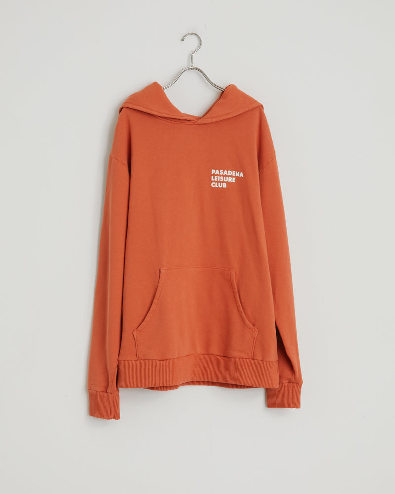 Puff Hoodie in Orange