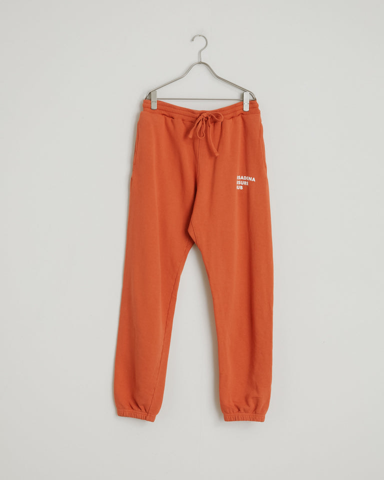 Sweatpant in Orange