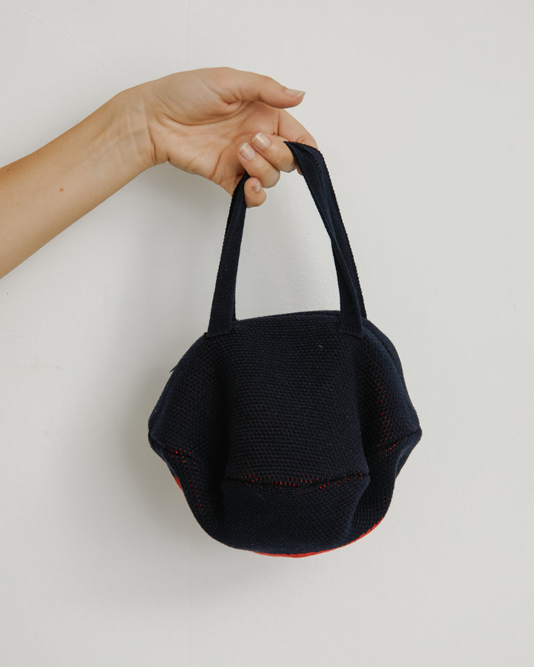 In My Feelings Pita Bag in Navy