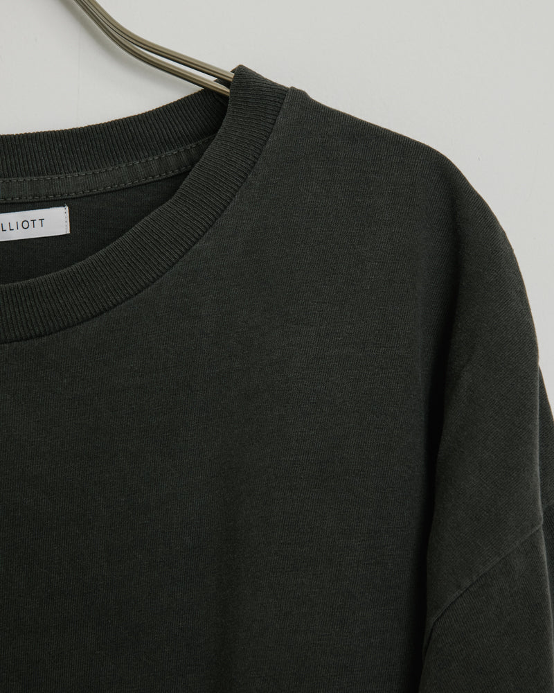 University Tee in Carbon